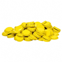 Crown Caps Yellow 100 Pack